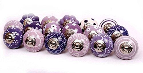 purple cabinet knobs - 1