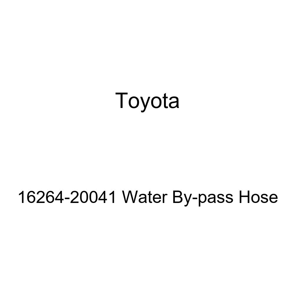 Genuine Toyota 16264-20041 Water By-pass Hose