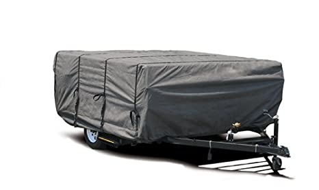 Camco 45761 RV 8-10-Feet Ultra Guard Pop-Up Camper Cover, 46-Inch H x 87-Inch W 38525200