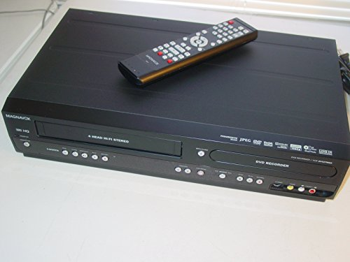 Magnavox ZV427MG9 DVD Recorder/VCR Combo, HDMI 1080p Up-Conv
