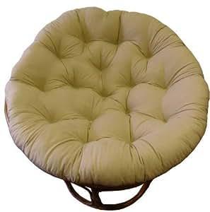 Amazon.com: Cojín Cotton Craft para silla papasan ...