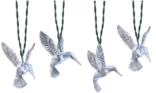 Moonrays 91142 Solar Powered LED Hummingbird String Lights