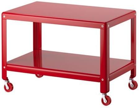 Ikea Ps 2012 Table Basse Rouge Amazon Fr Cuisine Maison