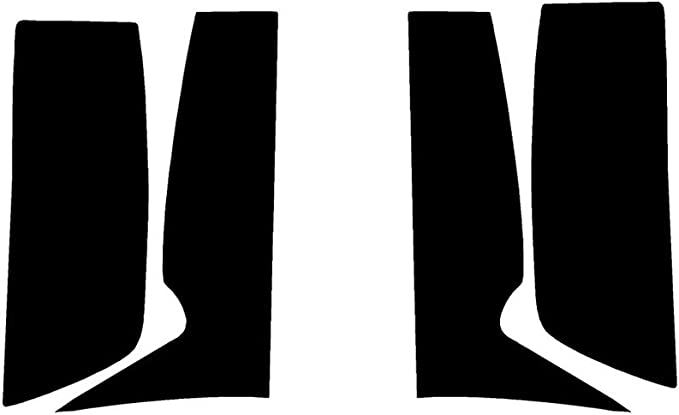 Application Kit Rvinyl Rtint Headlight Tint Covers for Cadillac Escalade 2007-2014
