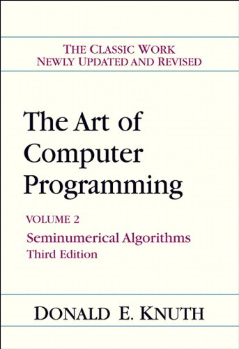 Download Art of Computer Programming, Volume 2: Seminumerical Algorithms, The (3rd Edition) Pdf