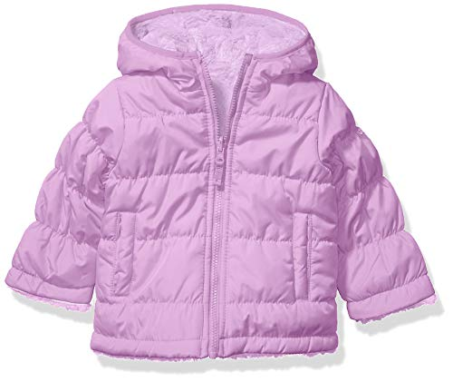 Osh Kosh Girls' Toddler Reversible Puffer Jacket