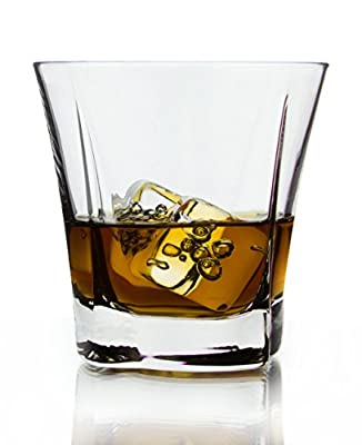 Red Co Signature Scotch Whisky Glasses, 8.5 Ounce - Set of 6