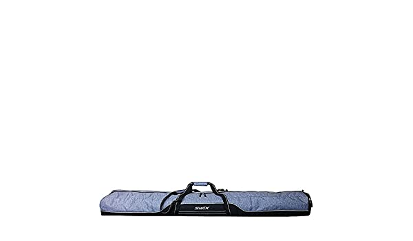 ecd92e883780 Amazon.com   Swix Road Trip Double Ski Bag (Grey Flannel)   Sports    Outdoors
