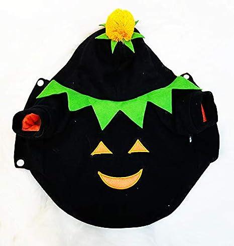 LBX Conjunto De Calabaza De Halloween para Mascotas Tejido De ...