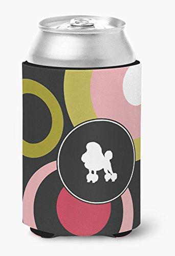 (Poodle Can or Bottle Beverage Insulator Hugger)