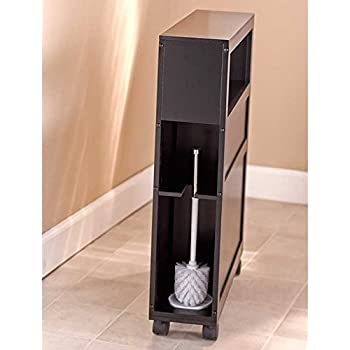 Amazon Com Tangkula Bathroom Storage Cabinet Wooden