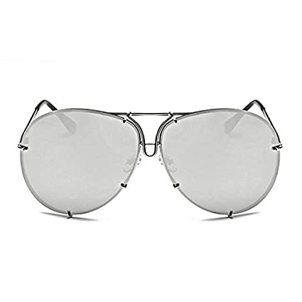 c79152a385 Horrenz Mujeres hombres de gran tama?o gafas de sol del dise?o de ...