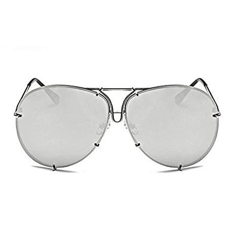 Horrenz Mujeres hombres de gran tama?o gafas de sol del dise ...