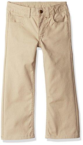 Carhartt Boys' Little Canvas 5 Pocket Pant, Medium Khaki, - Carhartt Boys Pants