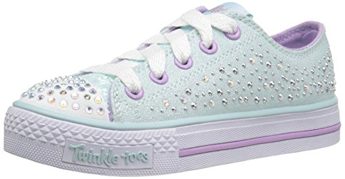 Twinkle Toes By Skechers S Lights-Shuffles-Sparkle Wishes Zapatillas