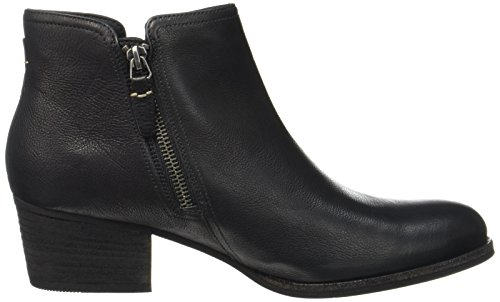 Clarks Combat Black Boots Leather Black Maypearl Ramie Women's Black Leather xFrOxPBwq