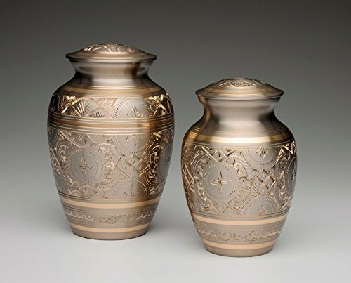 Ever My Pet Brass Elegance and Platinum Pet Urns Gold Large by Ever My Pet