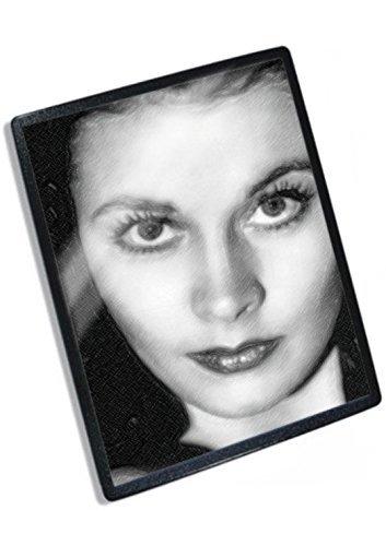 Actress Original Signed - VIVIEN LEIGH - Original Art Mouse Mat (Signed by the Artist) #js001