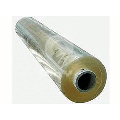 54'' Wide 16 Gauge Double Polished Vinyl Clear - 15 Yard Roll by BurlapFabric.com