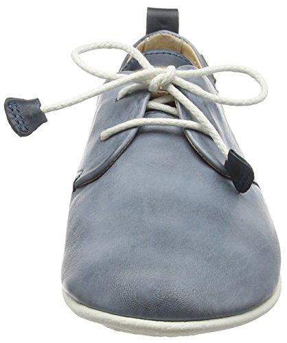 Pikolinos Calabria 917-7123 - Zapatos de Cordones para Mujer Azul (Blue)