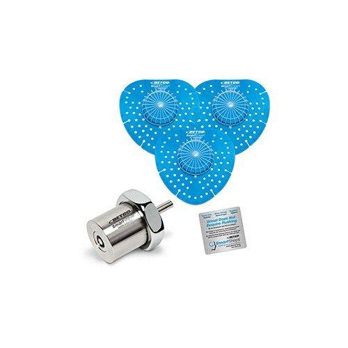 Ocean Breeze Betco SmartVALVE Water Conserving Urinal Kit Combo Pack 1 Kit