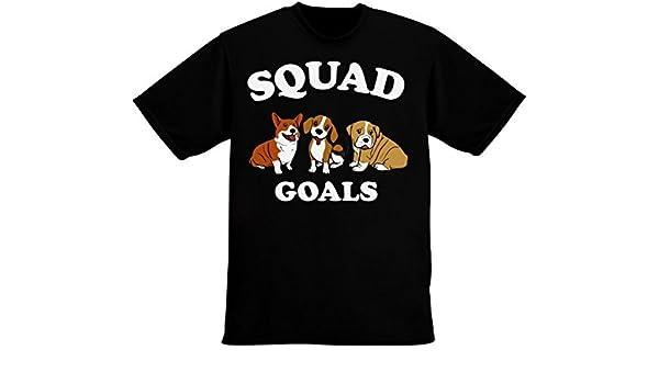 IDcommerce Squad Goals Three Cute Dogs Mens T-Shirt