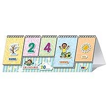 Mi primer Calendario: Aprendo Días y meses Junto con estaciones y Tiempo | Educación Infantil (Material de aula educación infantil)