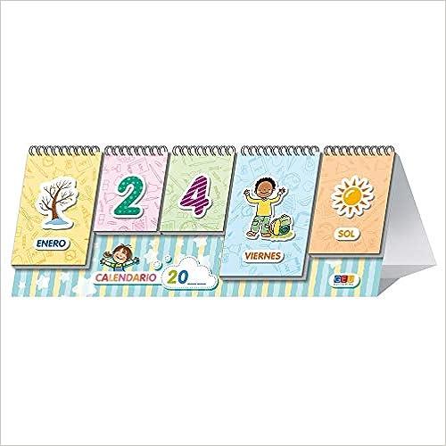 Book's Cover of Mi primer Calendario: Aprendo Días y meses Junto con estaciones y Tiempo | Educación Infantil (Material de aula educación infantil) (Español) Tapa dura – 1 enero 2020