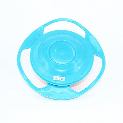 GetTen Universal 360 Degree Gyro Bowl for kids Non Spill Snack Bowl