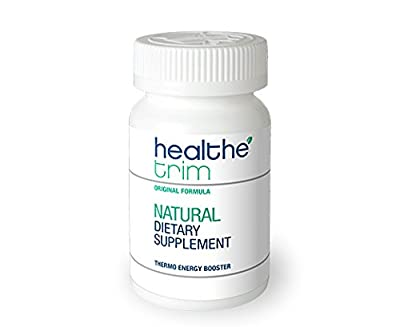 Healthe Trim Natural Dietary Supplement & Thermo-Energy Booster- Supports Healthy Metabolism - 100% Satisfaction Guarantee (60 caps)