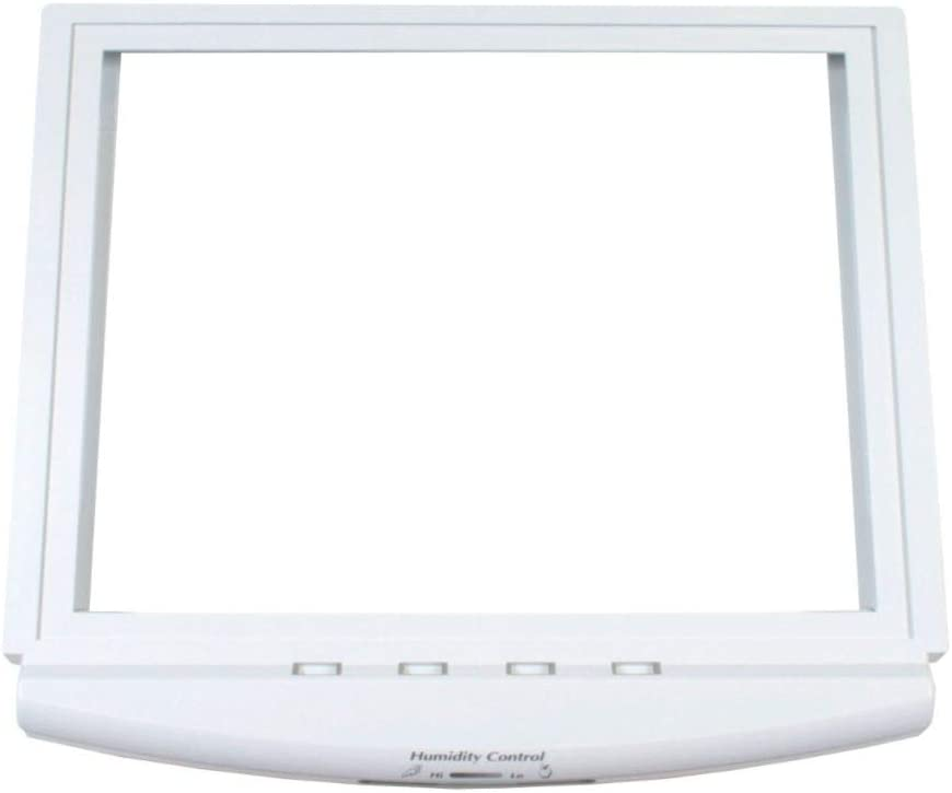 Ge WR32X26246 Refrigerator Crisper Drawer Cover Frame Genuine Original Equipment Manufacturer (OEM) Part