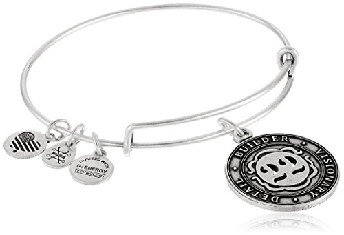 Alex and Ani Numerology Number, Expandable Wire Bangle Charm Bracelet