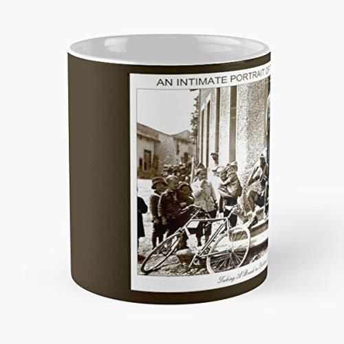 - Tour De France Portrait Taking A Break Children - Funny Coffee Mug, Gag Gift Poop Fun Mugs
