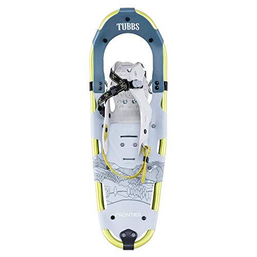 Tubbs Snowshoes Men's Frontier Trail Walking Snowshoes, Light Grey/Citron, 30 in. (Tubbs Snowshoes 30 Inch)