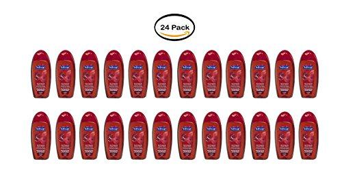 (PACK OF 24 - Softsoap Body Wash, Juicy Pomegranate & Mango Infusion - 2 fl oz)