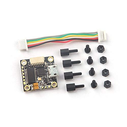 Part & Accessories Hot Sale 16x16mm TeenyF4 Pro F4 Flight Controller w/OSD Buck-Boost Converter for Micro FPV Racing Drone 1-2s Good Parts HOT! - (Color: Black) ()