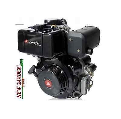 Motor diesel monocilindrico cortacésped Zanetti zdm 87 CE ...