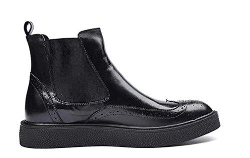 Dilize , Chaussures de ville à lacets pour homme Noir