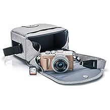 Olympus PEN E-PL9 kit with 14-42mm EZ Lens, Camera Bag, and Memory Card, Honey Brown