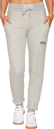 Fila Women's Gwen Jogger Pants, Grey Heather, M (Fila Womens Pants)