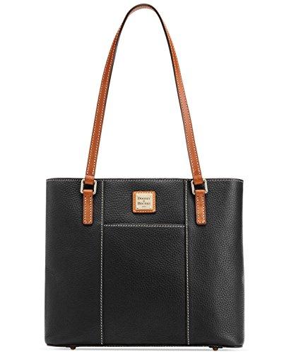 Pebble Leather Shopper (Dooney & Bourke Pebble Small Lexington Shopper Black)