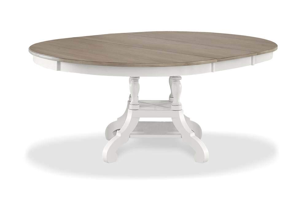 Hillsdale Furniture Rockport Dining Table, White