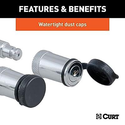 CURT 23556 Lock Set for Adjustable Channel Mounts: Automotive