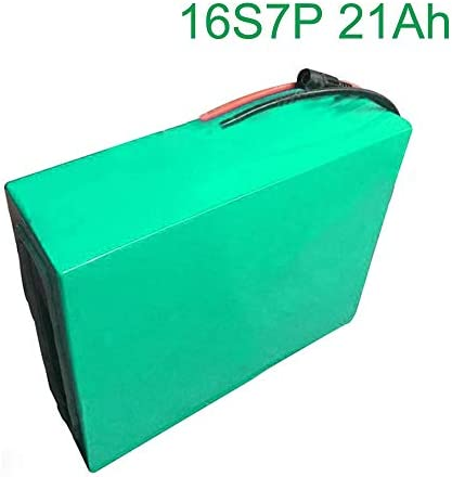 60V 21Ah 16S7P Li-ion Battery Electric Two Three Wheeled Motorcycle Bicycle ebike 31514070mm