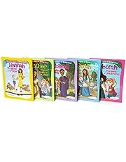 Bible Belles Christian Children's Book Set, The Adventures Of Rooney Cruz Bible Story Books, Age 4 - 10, Set Of 5