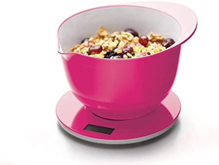 Kitchen Craft Colourworks Hot Pink Electronic Kitchen Weighing Scales