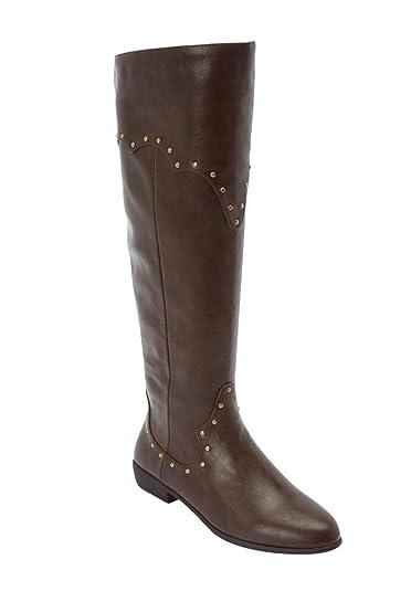 5a4f38a2877 The Sirena Wide Calf Boot - Brown