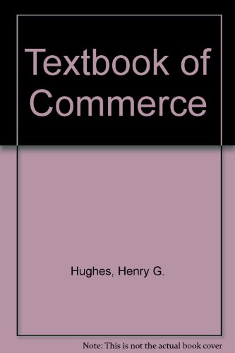 Textbook of Commerce
