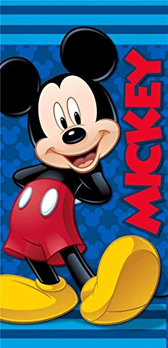 Mickey Mouse Beach Towel - Disney Mickey Mouse Clubhouse Fiber Reactive Beach Towel - Swell Guy