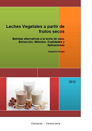 Leches Vegetales a partir de frutos secos: Bebidas alternativas a la leche de vaca.